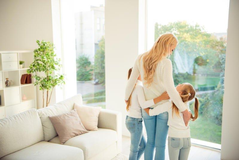 modern family home environment